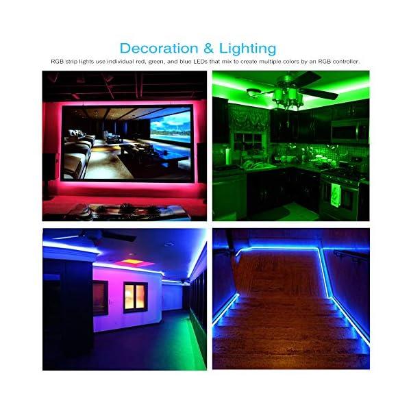Led Strip Lights color schemes