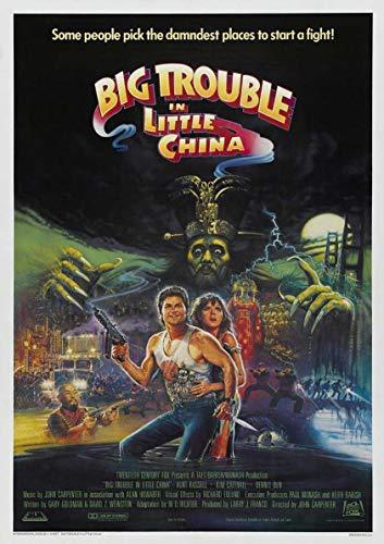 Posta Grosso guaio a Chinatown Film Wall Poster Art