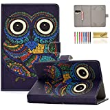 Case for 10 Inch Tablet, Casii Premium PU Leather Cover