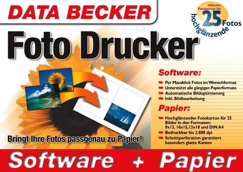 Foto Drucker und Papier. CD- ROM
