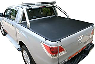 MAZDA BT50 DUAL CAB UTE w/FACTORY SPORTS BAR Nov2011-Curr CLIPON TONNEAU COVER
