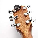 Afinador de guitarra mini sintonizador del cabezal