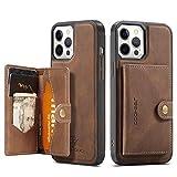 Estuche tipo billetera compatible para iPhone 12 Pro Max 5G, estuche para tarjeta con ranura para tarjeta de crédito Estuche de cuero Diseño de cubierta protectora para iPhone 12 Pro Max 6.7 inch