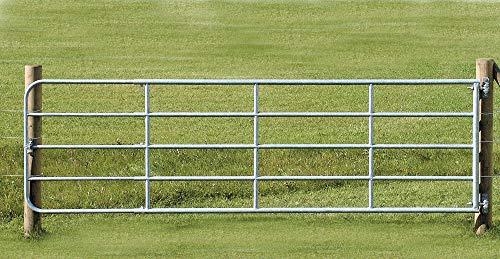 Kerbl Weidetor verstellbar 3m-4m, verzinkt, incl. Montageset
