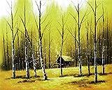 Hermoso paisaje naturaleza muerta lienzo pintura cartel sala de estar comedor mural imagen hogar art...
