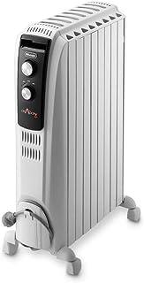 comprar comparacion De'longhi Dragon TRD04 0820 - Radiador de aceite, 2000 w, función anti heladas, 3 ajustes potencia, asa y ruedas, almacena...