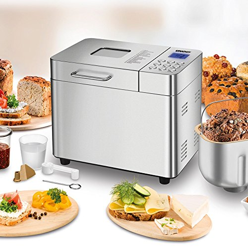 UNOLD Brotbackautomat Backmeister Edel, 550 W, 750-1000 g Brotgewicht, Keramik-Beschichtung, 68456 - 2