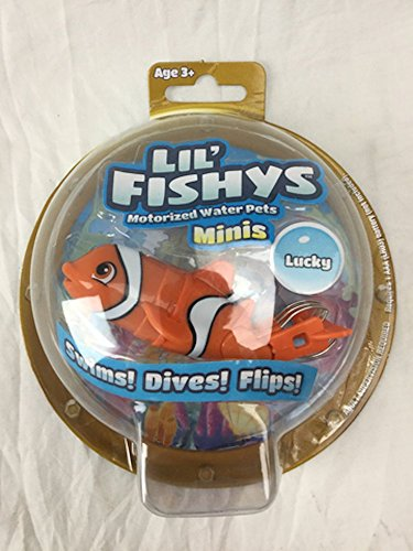 Lil' Fishys Motorized Water Pets – Lucky