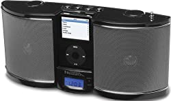 Emerson iTone Portable Sound System for iPod (Black)
