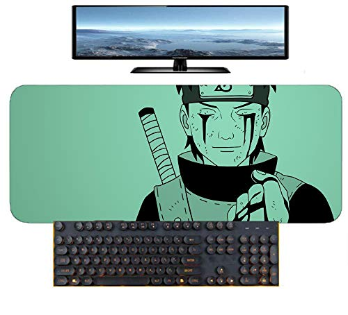 Mouse Mat Uzumaki Naruto 900X400mm Mouse Pad,Perfect precision and speed Gaming Mouse Mat with 3mm-Thick Base,for notebooks, PC-A_300×600×3mm