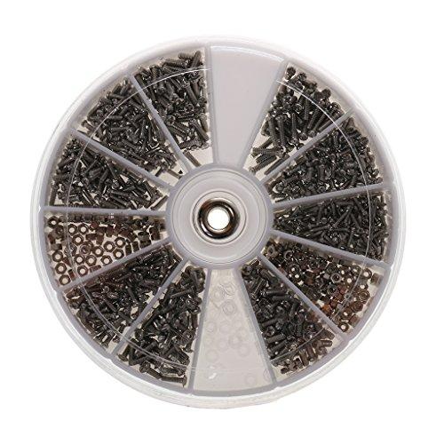 Edelstahl Mini Schrauben Set, Brillen, Handy, Uhren Reparatur Schrauben, Optiker/Uhrmacherwerkzeug