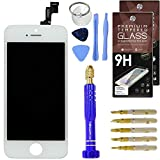 DIY White iPhone 5S Screen Replacement LCD Touch Screen Digitizer Assembly Set +
