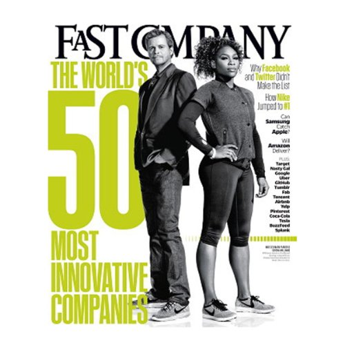Audible Fast Company, March 2013 cover art