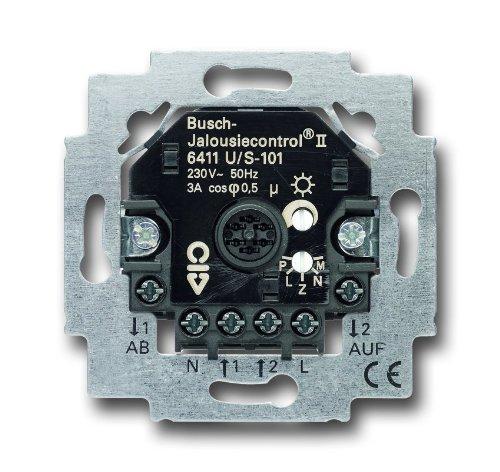 Busch-Jaeger 6411U/S-101 - Base de interruptor para persianas eléctricas