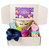 Birthday Gift Box for Her, Woman, Girl, Sister, Wife, Aunt, Mom, Girlfriend – Set of 8 unique presents from ColBox Gift