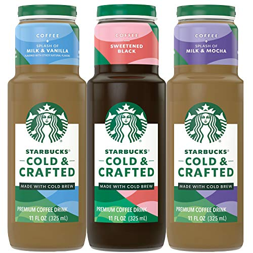 Starbucks - RTD Coffee Cold & Crafted - 3fl Vp 11oz 12Pk, 12Count