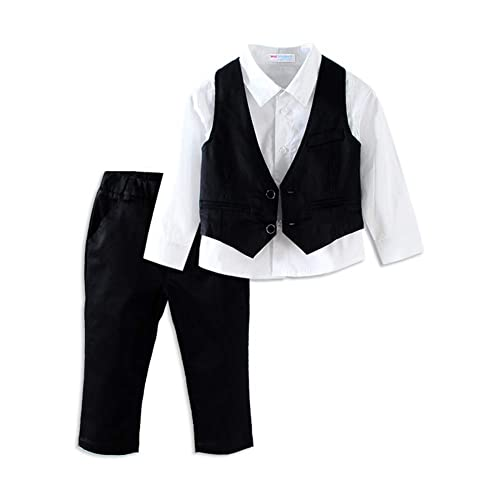 Mud Kingdom Handsome Boys Dress Suit Set Casual