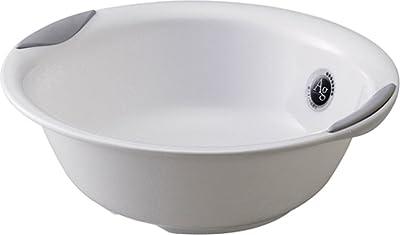 リス 湯桶 『ユニバーサルデザインの浴用品』 ラスレヴィーヌ プラチナホワイト