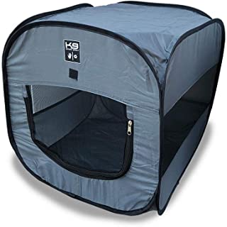 K9 Sport Sack | Indoor & Outdoor Pop-up Travel Dog Tent | Portable Dog House for Camping & Hiking with Carry Bag