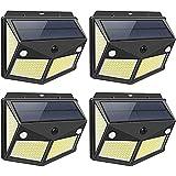 DOOK Luz Solar Exterior 280 LED, [Versión Innovadora 2200mAh]...