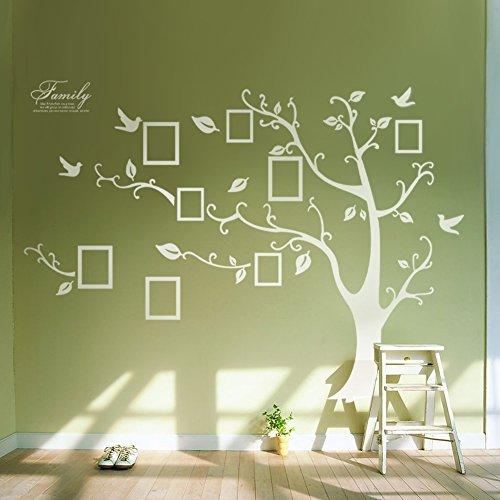 Rainbow Fox Animal decals wall decal monkey sticker leaf branch, best for baby room decoration