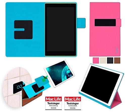 Hülle für Lenovo Tab S8 Tasche Cover Hülle Bumper | in Pink | Testsieger