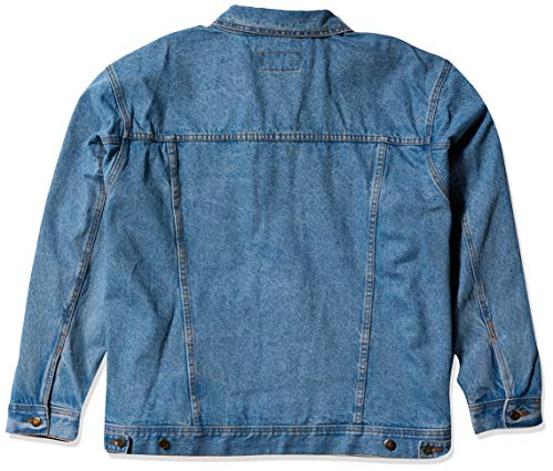 Wrangler Men's Unlined Denim Jacket, Vintage Indigo, Large
