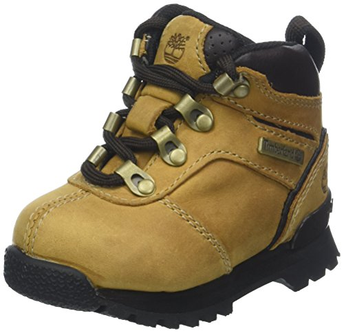 Timberland Unisex-Kinder Euro Hiker Trekking- & Wanderhalbschuhe, Beige (Wheat Oiled Nubuck 231), 39 EU