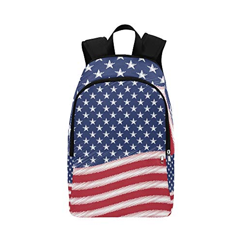 NANA Best Packable Daypack Fashion Creative Retro Country Flag Durable Water Resistant Classic Day Hike Bag Messenger Backpack College Storage Bags Makeup Bag Travel