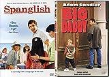 Heart Felt But Not Quite Rom Coms Featuring Adam Sandler DVD Bundle: Big Daddy & Spanglish