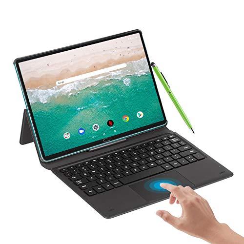 Tablet 10.8 Pulgadas Android 10.0-con Procesador de Deca-Core Ultrar Rápido Tablets 6GB RAM+128GB/512GB ROM - Certificación Google gsm - 2.3 GHz 5G WiFi 4G Dual SIM 8000mAh,OTG|GPS|Type-C (Verde)