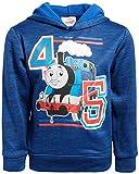 Nickelodeon Boys Fleece Sweatshirt Pullover Hoodie - Thomas The Tank Engine - Ninja Turtles - Blaze (Toddler/Little Boys), Royal, Size 6'