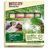 edding Textmarker Highlighter 24, nachfüllbar sortiert EcoLine