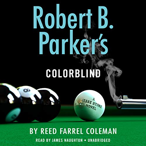Robert B. Parker's Colorblind audiobook cover art