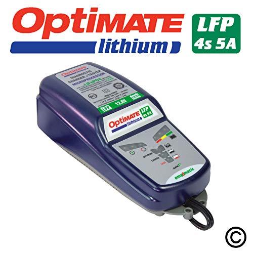 Optimate Lithium Batterieladegerät - speziell für Lithium Ionen Akkus von Tecmate