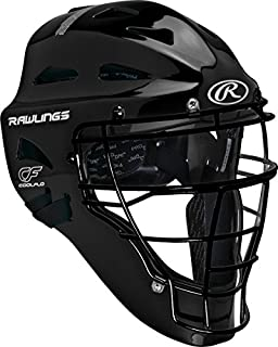 Rawlings Sporting Players Series Goods Catchers Helmet, Black - coolthings.us