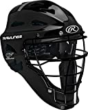Rawlings Sporting Players Series Goods Catchers Helmet, Black