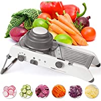 Kintty Mandoline Stainless Steel Vegetable Julienner Slicer