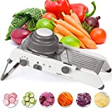Best Mandoline Slicers - Mandoline Slicer Stainless Steel Vegetable Julienner Built-in Adjustable Review
