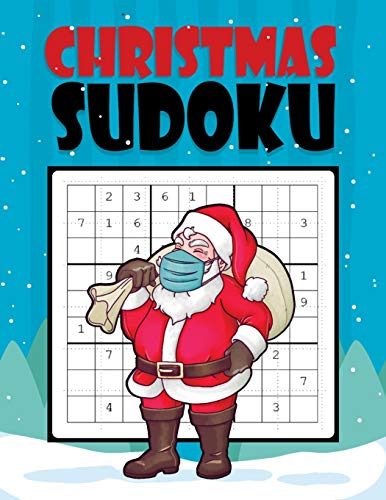 Christmas Sudoku: Easy Sudoku Puzzles Game Book with Solutions for Beginners for kids, Teens, Adults, Senior - One Puzzle Per Page - Perfect Christmas ... elephant Present- Countdown to Christmas Book