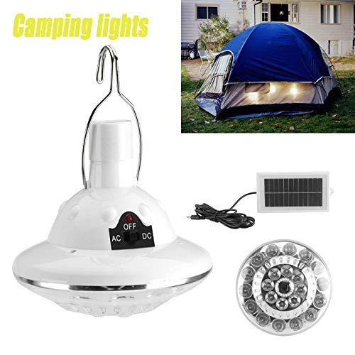 Solarlamp, 22 leds, met afstandsbediening, zonnepaneel, verlichting voor buiten, om op te hangen, voor tuin, binnenplaats, camping, wandelen, lange werkuren, draagbaar