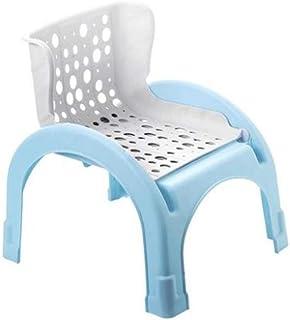 ZHCWT Baby Shampoo Chair, Child Shampoo Stool, Children Shampoo Bed, Foldable Reclining Dual-purpose Shampoo Chair