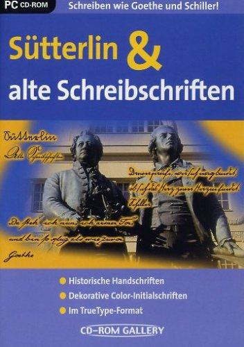 Sütterlin- und alte Schreibschriften