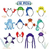 CiyvoLyeen Sea Animal Party Headband Under The Sea Themed Birthday Party Favors for Kids Costumes...