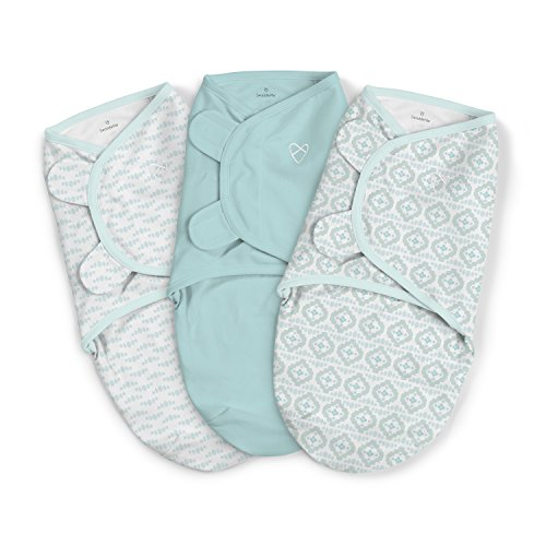 SwaddleMe Original Swaddle 3PK Newport Shores Small
