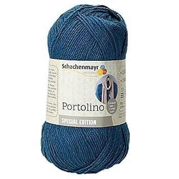 Portolino ist ein feines Sommergarn mit frischer Farbpalette, das sich hervorragend für luftige Tücher und Tops eignet. Die Farben wurden so ausgewählt, dass sie sich auch großartig miteinander kombinieren lassen. Nadelstärke: 2-3 mm, Lauflänge: 215m...