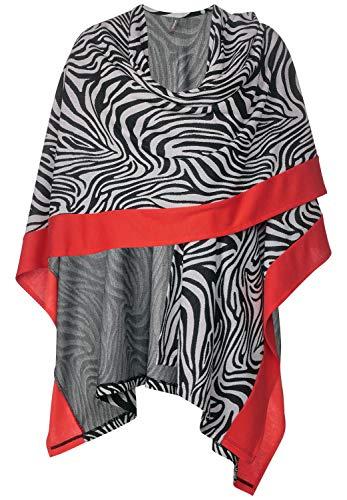 Street One Damen 580426 Cape, Black, One Size (Herstellergröße:A)