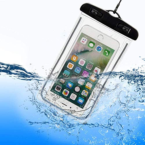 Kit 2 Unid Capa A Prova D água Para Celular Universal Até 6.5 Polegadas