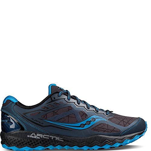 Saucony Peregrine 6 Ice Running Shoes - AW16-10 - Blue