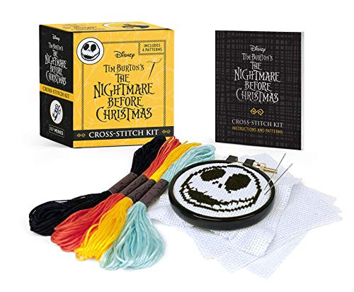 Disney Tim Burton's The Nightmare Before Christmas Cross-Stitch Kit (RP Minis)